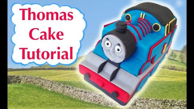 Thomas The Train Birthday Cake Thomas Train Birthday Cake How To Cook That Ann Reardon 3d Fondant