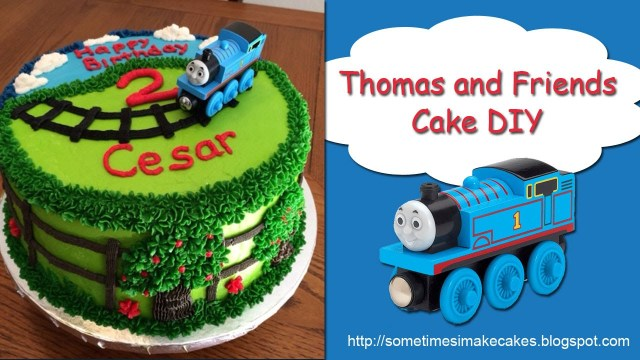 Thomas The Train Birthday Cakes Thomas And Friends Birthday Cake Youtube
