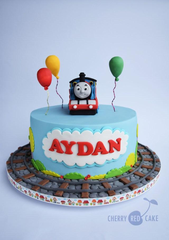 Thomas The Train Birthday Cakes Thomas The Tank Engine Cake Thomas The Train Pinterest