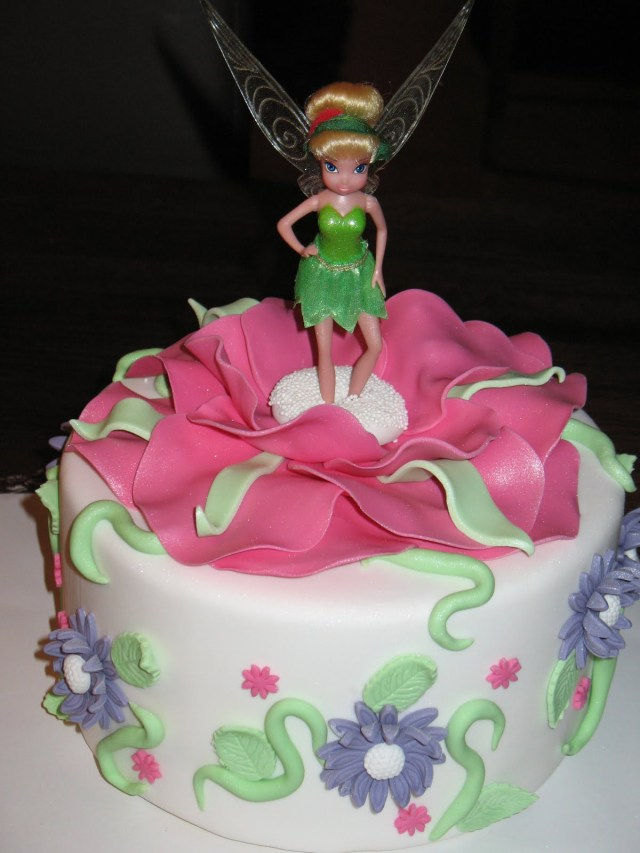 Tinkerbell Birthday Cakes Tinkerbell Cakes Decoration Ideas Little Birthday Cakes
