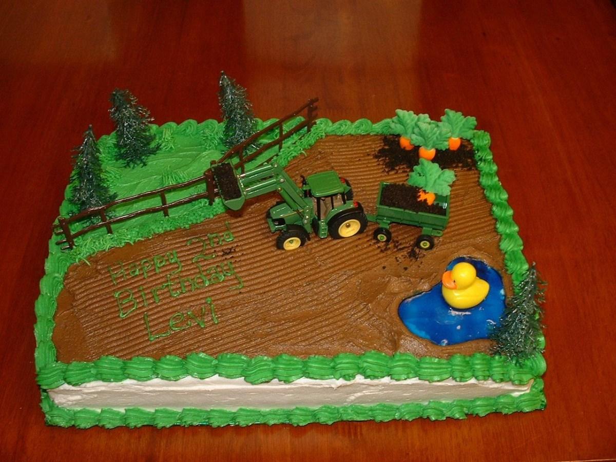 Marvelous Tractor Birthday Cakes Tractor Birthday Cake Farm Tractor Birthday Funny Birthday Cards Online Unhofree Goldxyz
