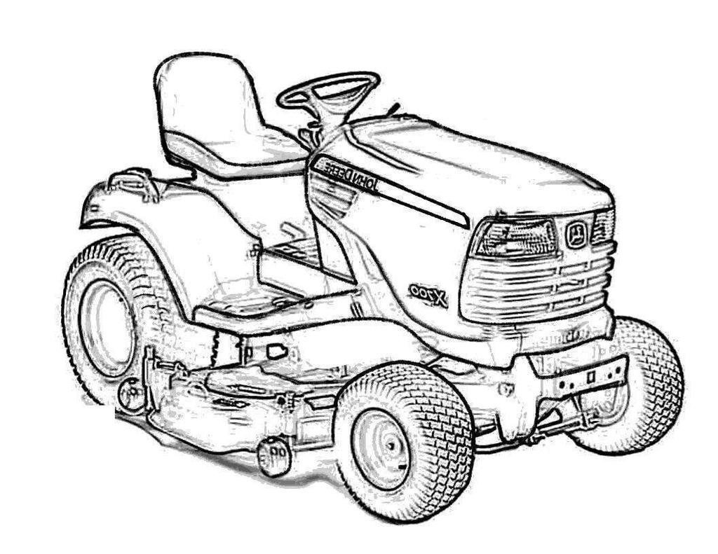 Tractor Coloring Page John Deere Tractor Coloring Pages Promising Drawing Pictures Get Birijus Com