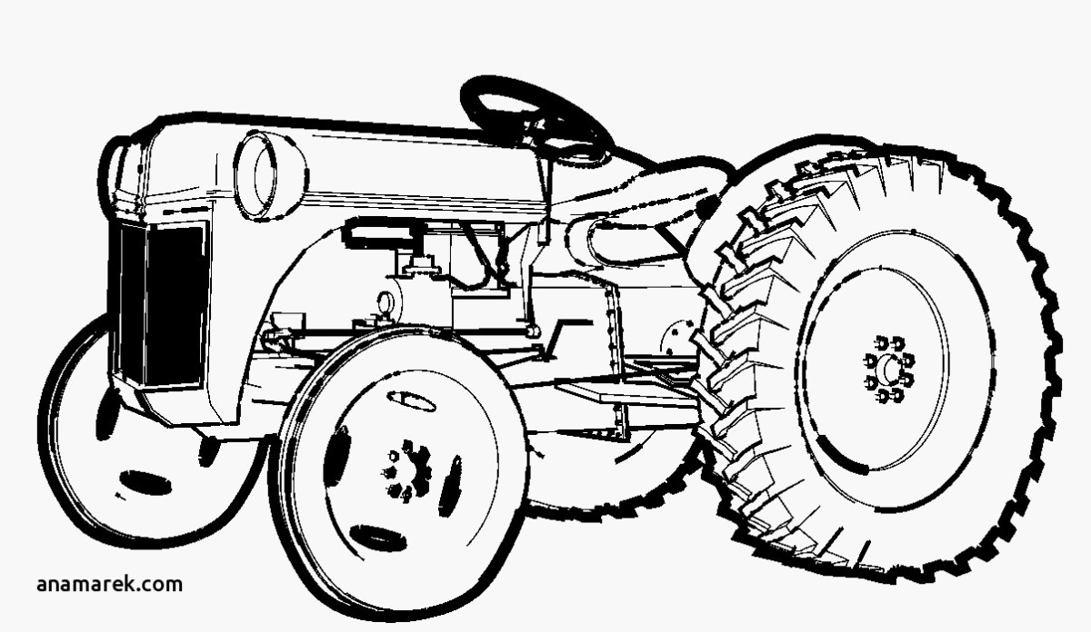 Tractor Coloring Page Tractor Coloring Book Beautiful Photos ...