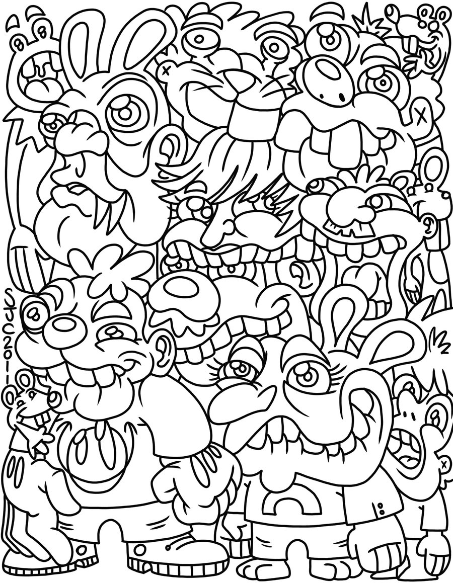Tumblr Coloring Pages Coloring Pages Turtlerabbitfox On Deviantart Coloring Page Tumblr