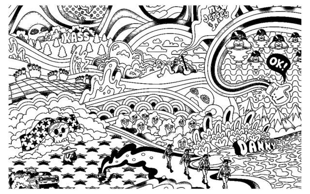 Tumblr Coloring Pages Trippy Colorings Mandala Pages For Adults Printable Mushrooms