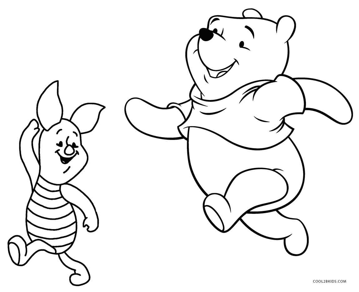 Sports coloring: Piglet From Winnie The Pooh Coloring Pages ... | 937x1150