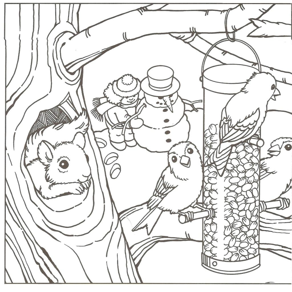 - Winter Coloring Pages For Kids Free Winter Coloring Sheets For