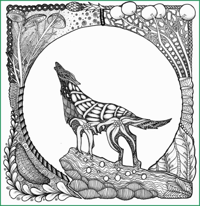 Wolf Coloring Pages Fabulous Photograph Of Printable Wolf Coloring Pages For Adults