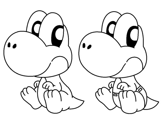 Yoshi Coloring Pages Mario Yoshi Coloring Pages At Getdrawings Free For Personal