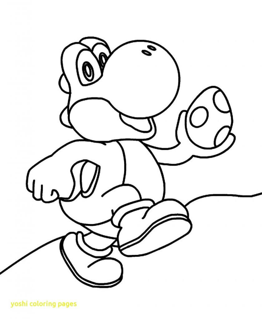 Images of Coloring Pages Of Yoshi - Sabadaphnecottage