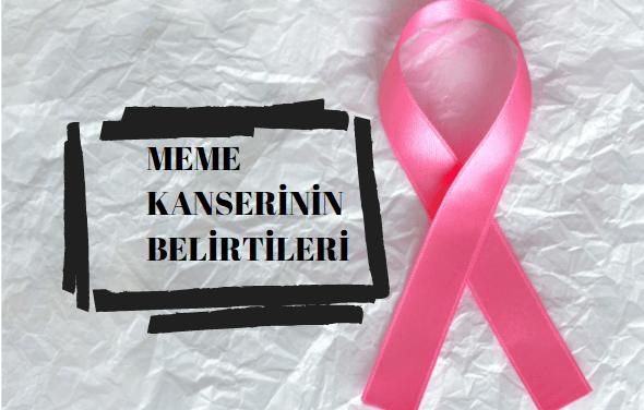Meme Kanserinin Belirtileri