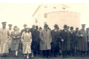 Atatürk'ün Şeker Fabrikasını Ziyareti
