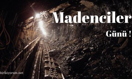 Bir Avuç Madene Ömür Verenler: Madenciler Günü