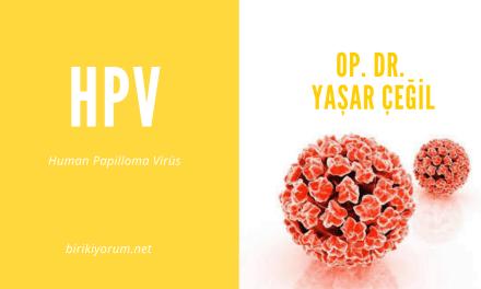 Hpv: Human Papilloma Virüs