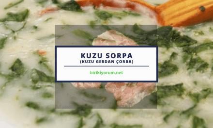 Kuzu Gerdan Çorba – Kuzu Sorpa