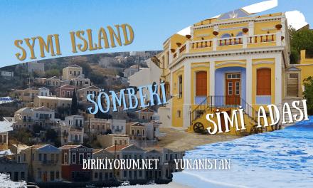 Simi Adası ya da Sömbeki : Bir Minik Ada