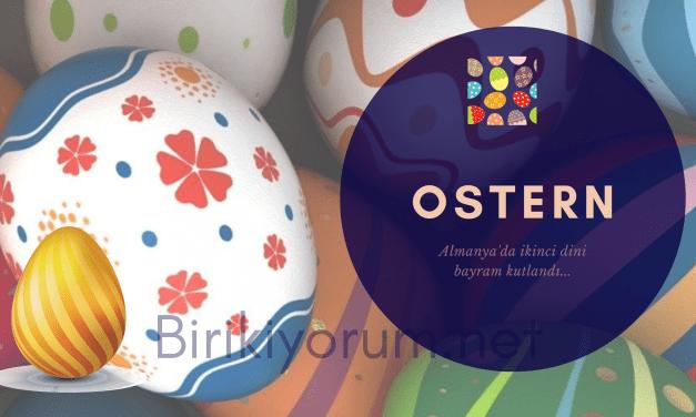 Ostern. Almanya'da ikinci Dini Bayram Kutlandı