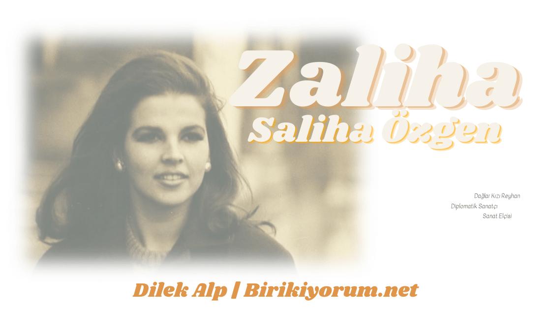 Yaşayan İnsan Hazinemiz, Diplomatik Sanatçı; Zaliha