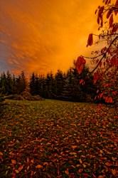 Bild: Nach dem Sturm - herbstlicher Sonnenuntergang im Unterharz bei Greifenhagen. NIKON D700 und CARL ZEISS Distagon T* 3.5/18 ZF.2. ISO 200 ¦ f/11 ¦ 18 mm ¦ 1/20 s ¦ kein Blitz. Klicken Sie auf das Bild um es zu vergrößern.