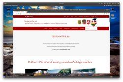 Bild: Screenshot der Website latvia-online.eu. Klicken Sie auf das Bild um es zu vergrößern.