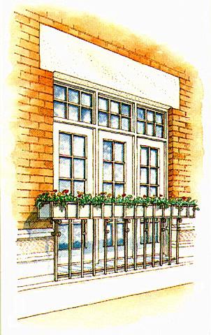 Embassy Club Window