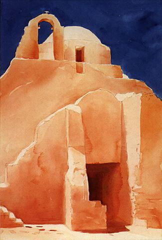 Greek Island Chapel