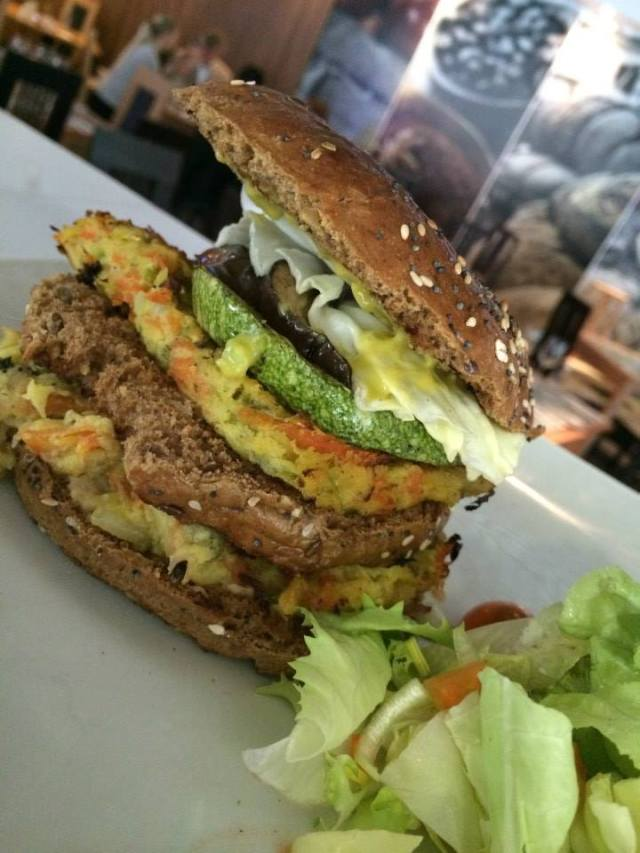Vejeteryan Hamburger