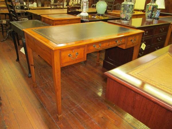 English Bench Hepplewhite Style Writing Desk