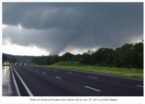 Birmingham, AL area tornado