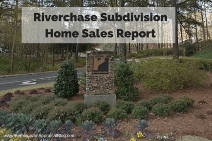 Riverchase Subdivision Home Sale Report