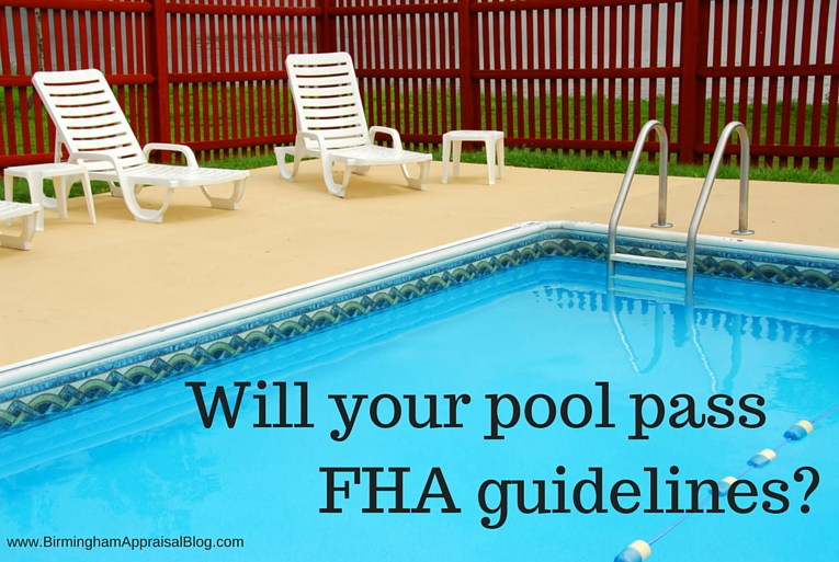FHA swimming pool rule
