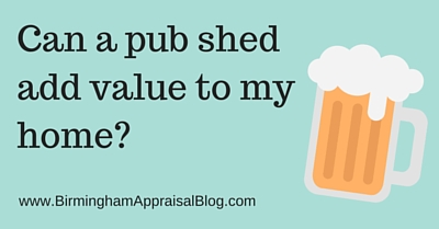 Can a pub shed add value to my home