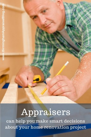 appraisers and home renovation