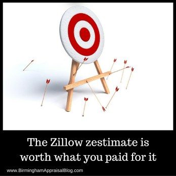 zestimate is not accurate