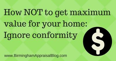 appraisal-conformity