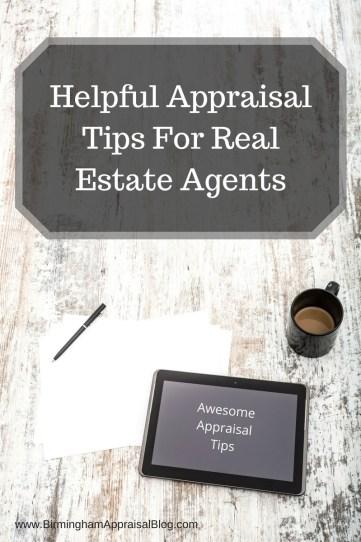 Agent Appraisal tips
