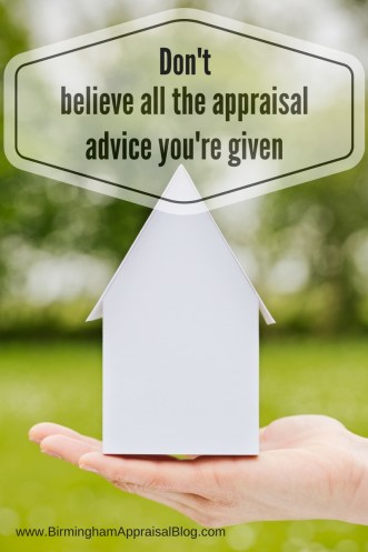 appraisal advice can sometimes be wrong