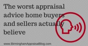 appraisal advice