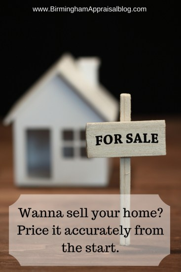Price your home accurately