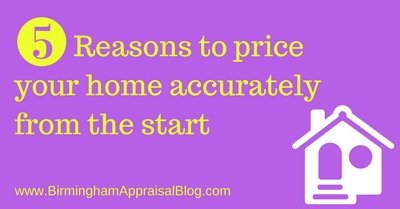 Reasons to price home accurately