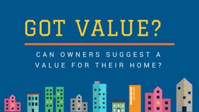 can owners suggest a value for their home
