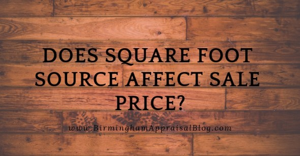 square foot source affect sale price