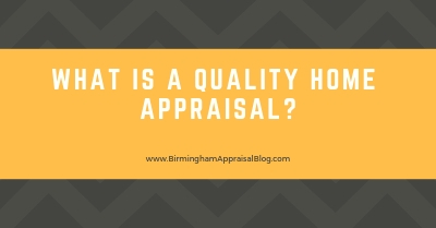 Alabaster AL Quality Home Appraisal