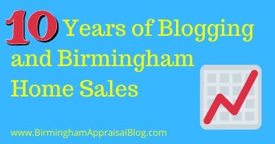 10 Years of Blogging and Birmingham Home Sales