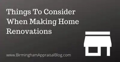 Things To Consider When Making Home Renovations