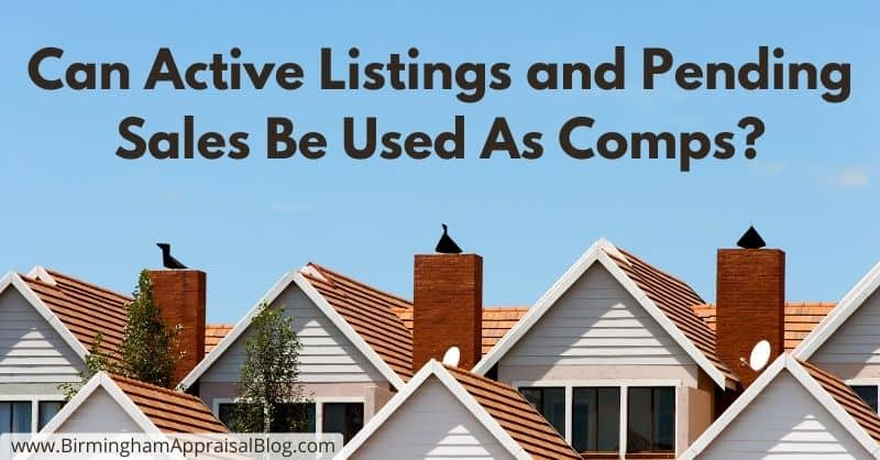Active Listings and Pending Sales
