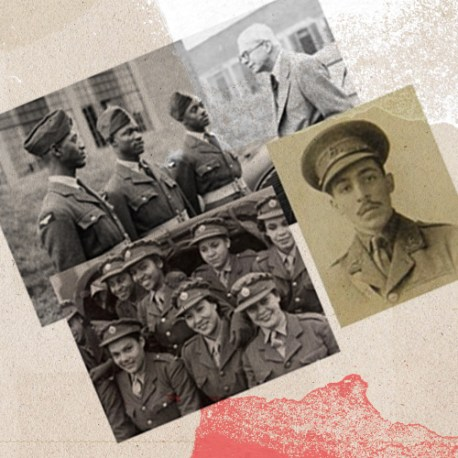 6 week course on Black soldiers, sailors and pilots in The First World War