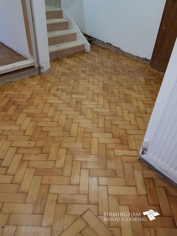 Repair And Restoration Of Parquet Block Floor St John'