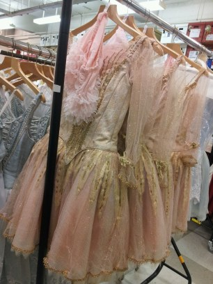 What says ballet more than these beautiful pink dresses?