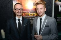 Craig Leo (associate puppetry director) and Matt Forbes (assistant puppetry director)